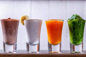 smoothies and detox ater